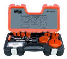 Bahco 3834-SET-92 Holesaw Set Bim 11 piece