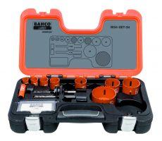 Bahco 3834-SET-94 Holesaw Set Bim 11 piece