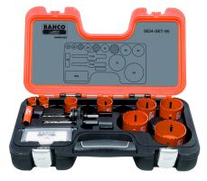 Bahco 3834-SET-95 Holesaw Set Bim 12 piece