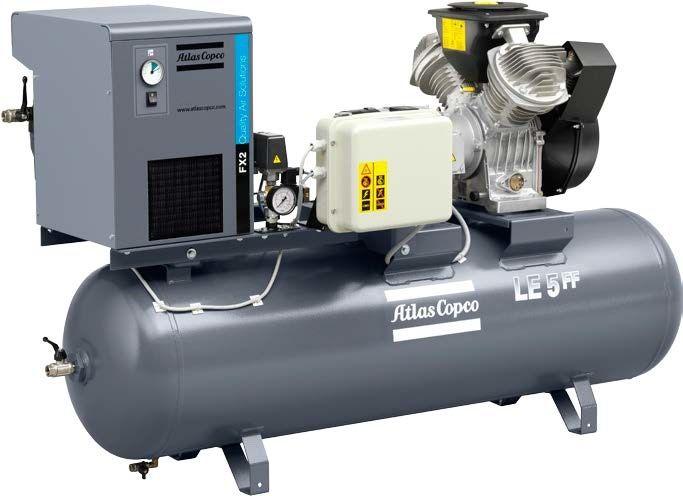 Atlas Copco LE 5-10 Lubricated Air Compressor   Air Compressors