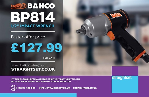 "Price Promotion - Bahco BP814 1/2"" Impact Wrench ONLY £127.99"