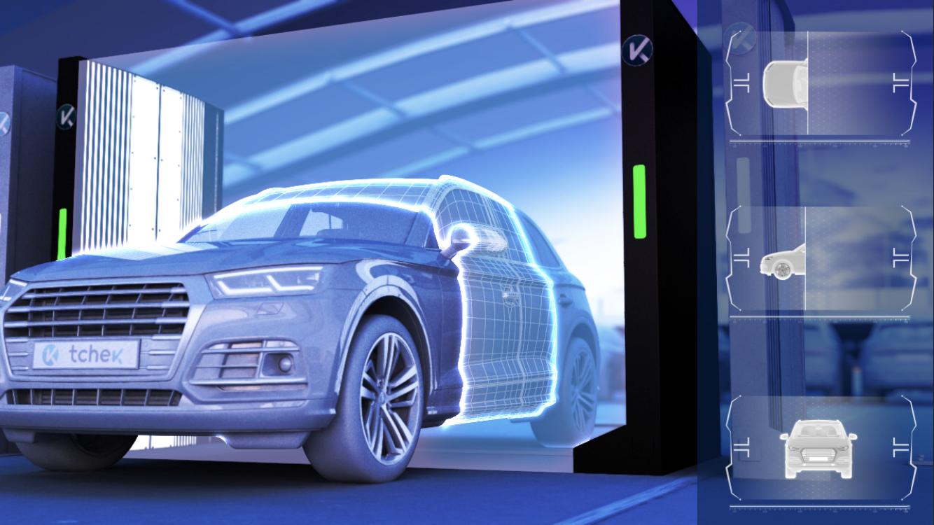 Tchek Vehicle Damage Detection System | New Product
