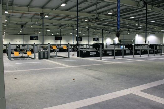 Jaguar Land Rover Southampton | New Workshop Project