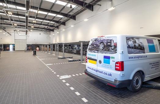 Mercedes Benz West Drayton New Workshop Installation