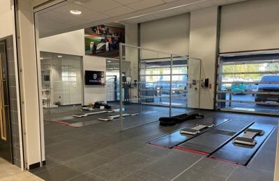 Porsche Bournemouth | New Workshop Installation Project