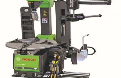 Bosch range of tyre changes and wheel balancers