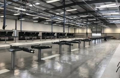 Rybrook Jaguar Land Rover Huddersfield | New Workshop Installation by Straightset