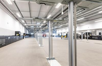 Mercedes Benz of Coventry | New workshop fitout