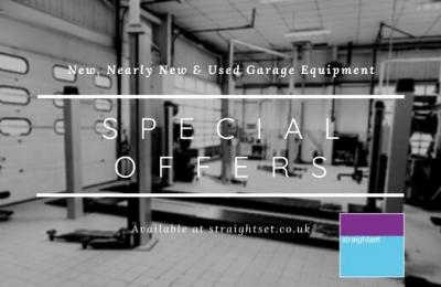 New, Nearly New and Used Garage Equipment Special Offers