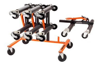 Bahco Car Skate Set + Storage Rack Deal