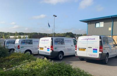 Straightset adds to their fleet of vans