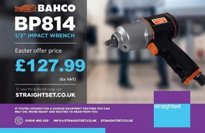 "Easter Price Promotion - Bahco BP814 1/2"" Impact Wrench ONLY £127.99"