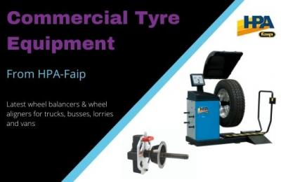 Commercial Wheel Balancing and Wheel Alignment solutions from HPA-Faip