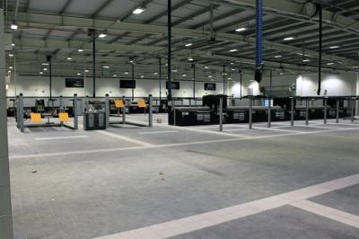 Jaguar Land Rover Southampton | New Workshop Project