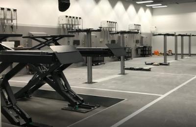 Rybrook Volvo Preston | Workshop Installation