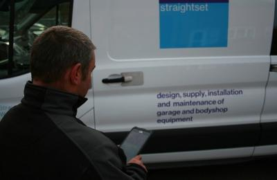 Garage Equipment Service Contracts with Straightset