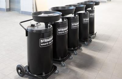 Straightset's range of Waste Oil Drainers | Choose the right waste oil drainer for your workshop