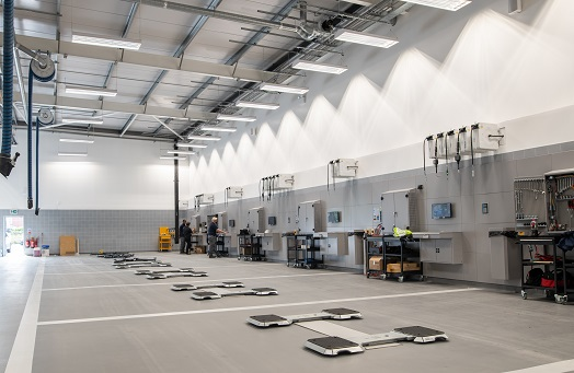 New Workshop Project Completion   Rybrook Volvo Bolton