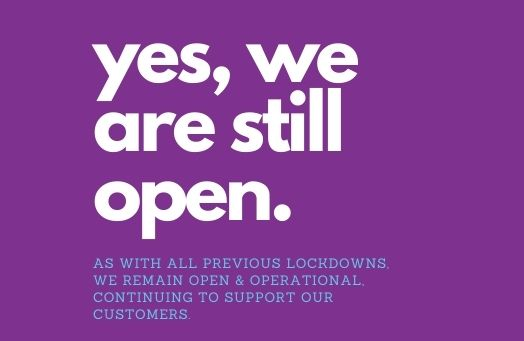 Straightset remain open and operational during lockdown