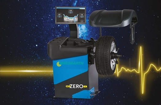 MT Zero 6 Wheel Balancer - New Wheel Balancers Range from Beissbarth for high volumes of wheel services shop.