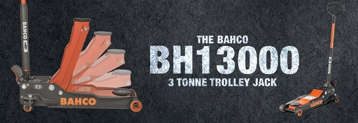 Bahco 3 tonne trolley jack