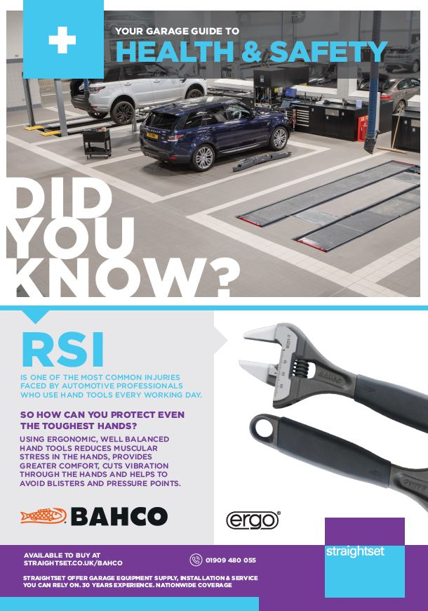 avoiding RSI with bahco tools