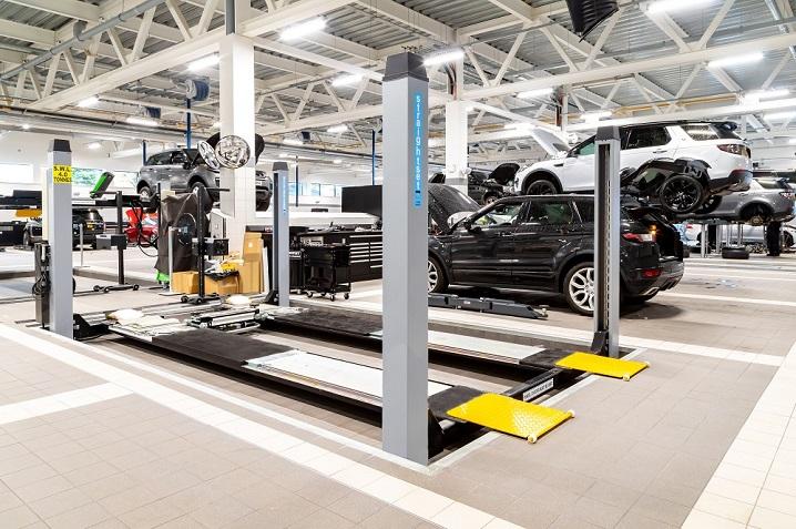 new dealership Jaguar Land Rover Chester